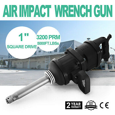 "1"" Air Impact Wrench Gun Long Shank Heavy Duty Commericial Truck Mechanics"