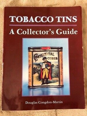 BOOK: TOBACCO TINS A COLLECTOR'S GUIDE by Douglas Congdon-Martin 1992