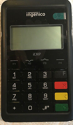 Ingenico iCM122 ICMP Card Reader Chip Reader (EMV) & USB Charging Cable