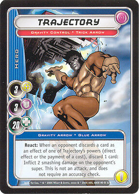 City of Heroes CCG 70-Card Tourney Deck (Trajectory)