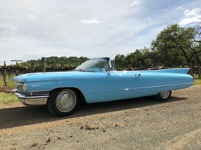 1960 Cadillac Other  1960 Cadillac Series 62 Convertible