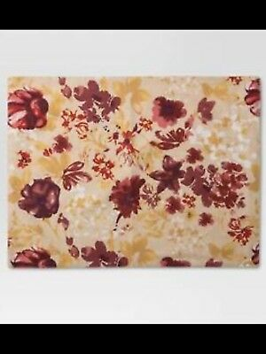 Floral Placemat - Red - Threshold&#153