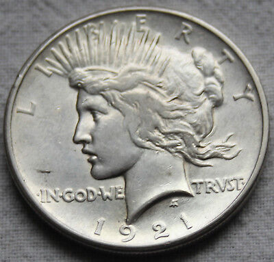 1921-P Peace Dollar - High Relief