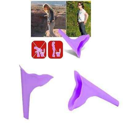 Portable Female Outdoor Camping Hiking Travel Woman Tiolet Aid Funnel Tools