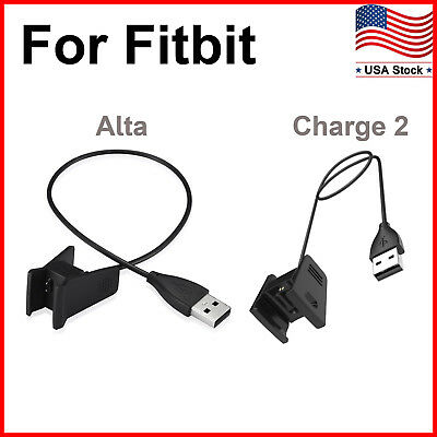 Replacement USB Charger Charging Cable Cord Wire for Fitbit Alta/Fitbit Charge 2