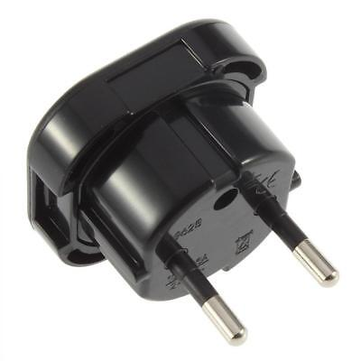 Universal UK to EU AC Power Travel Plug Adapter Socket Converter 10A/16A 240V UL