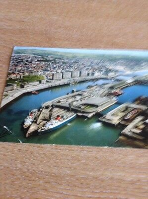 Postcard Used 1968 Boulogne S Mer   Ships At Bay B1301
