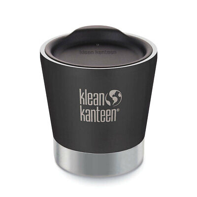 New KLEAN KANTEEN 8oz 237ml VACUUM INSULATED TUMBLER SHALE BLACK
