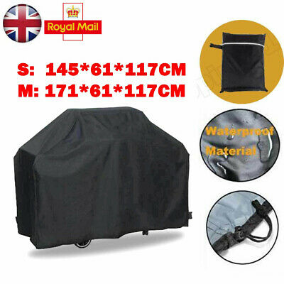 Large BBQ Cover Outdoor Waterproof Barbecue Cover Garden Grill Protector UK