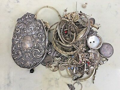 Scrap Sterling Silver 497 Grams