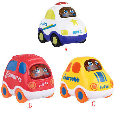 Mini Baby Kid Cartoon Cute Forward Movement Engineering Car Educational Toy Gift