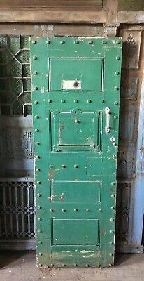 Reclaimed Vintage Old Victorian Police Jail Prison Cell Door