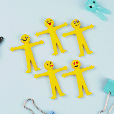 Stretchy Smiley Men Kids Party Fun Loot Bag Filler Mini Stretch Toy Childs