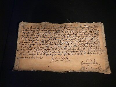 Pergamino Medieval  Medieval Parchment
