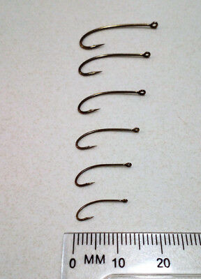 Mustad Signature C53NP-BR Nymph/Terrestrial Fly Hooks in sizes #6, #8, #10 or #1
