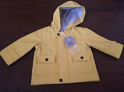 The Most Gorgeous Bright Yellow Baby Rain Jacket - Brand New! 3-6 Months