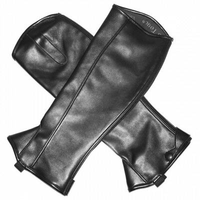 New Mark Todd 'Toddy' Synthetic Black Half Chaps, VARIOUS SIZES