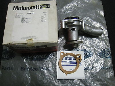 Mk1 Mk2 Cortina Gt 1600E Capri Escort Anglia Genuine Ford Nos Water Pump Assy