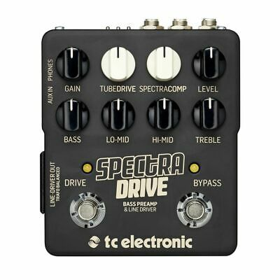TC Electronic SPECTRADRIVE - Bass Preamp