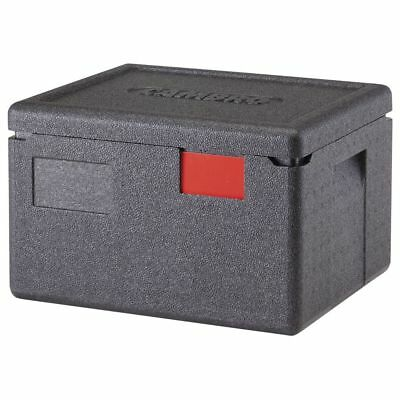 Cambro EPP260110 Cam GoBox Black Plastic Top Loading Half Size Pan Carrier - 15