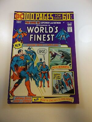 World's Finest #224 VG/FN condition Free shipping on orders over $100.00!