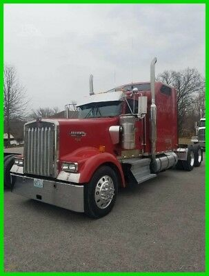 2006 Kenworth W900 Used Conventional Commercial Semi Sleeper Truck, Raised Roof