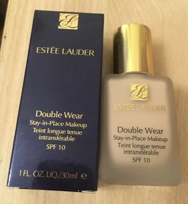 Estee Lauder Double Wear Foundation  1co Shell  brand new *free postage*