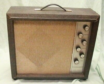 Vintage Simpsons-Sears Silvertone 1482 Amp w/ Original Tubes and Speakers