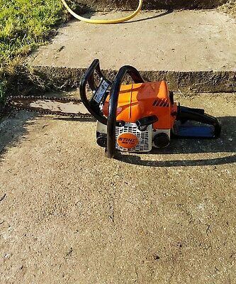 Stihl MS170 chainsaw. SPARES or repair. Needs service.