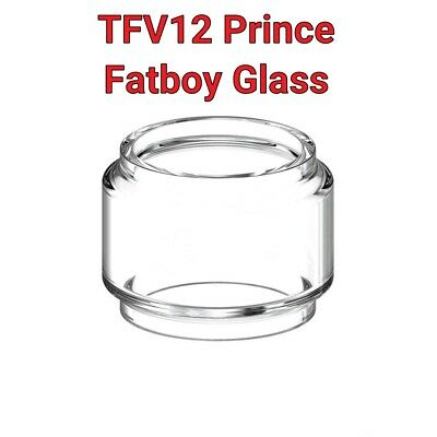 SMOK TFV12 Prince Tank Glass Fatboy Bubble Extended Replacement Vape