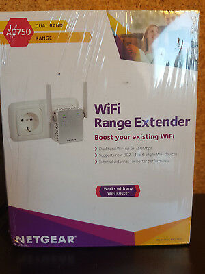 Netgear Ex3700 Repetiteur Wifi Ac750 Dualband - Neuf Scelle