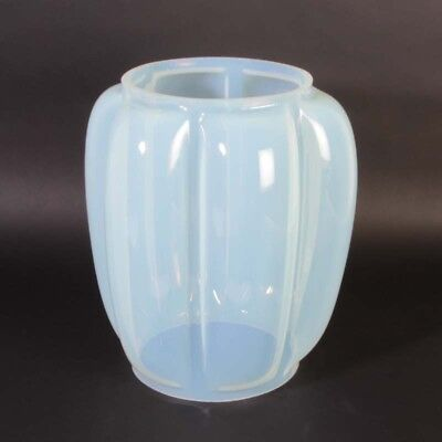 cenedese murano glas vase hellblau opalglas vintage 1950er glass light blue opal eur 1 50. Black Bedroom Furniture Sets. Home Design Ideas