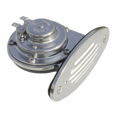 Ongaro Mini Single Drop-In Horn w/SS Grill High Pitch 10051