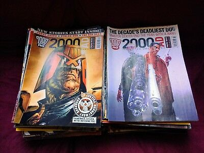 2000AD Comic Collection Progs 1538 - 1665