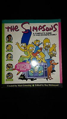 The Simpsons A Complete Guide To Our Favourite Family 1997 Paperback Book