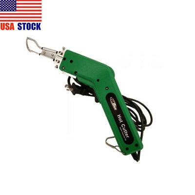 110V 100W Hot Heating Knife Cutter Sponge Rope Leather Pipes Fabric Cutting US