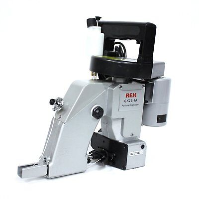REX  INDUSTRIAL  Portable  Bag  Closer sewing machine