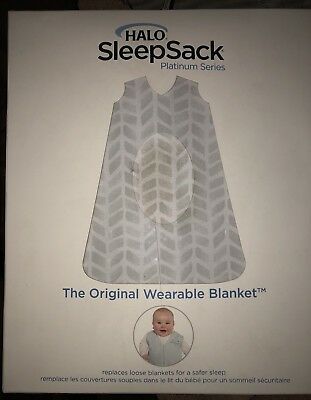 NEW HALO SLEEP Sack Platinum Series Grey Chevron -  16.99  1710d4554