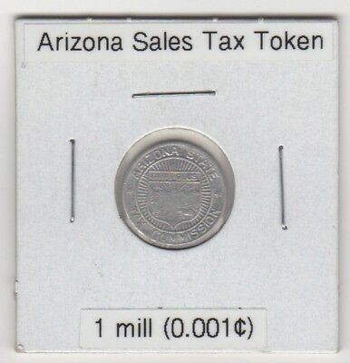 Arizona State 1 Tax Payment Token — Circulated Condition