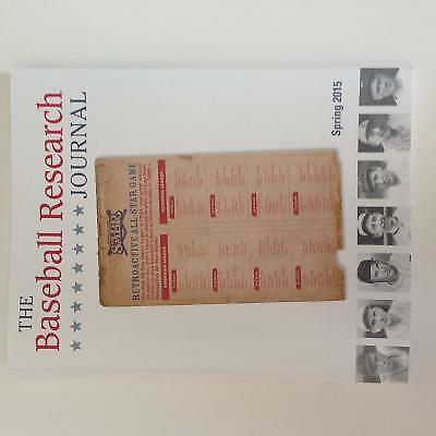 Baseball Research Journal (BRJ), Volume 44 #1 by Society for American...