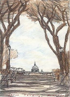 Italian Cities and Landscapes: An Architect's Sketchbook by William H. Fain...