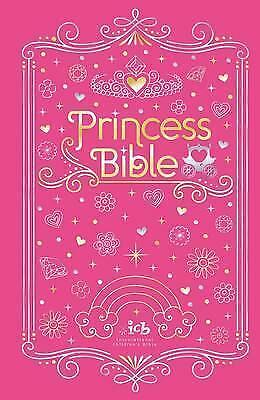 ICB Princess Bible with Coloring Sticker Book by Thomas Nelson (Hardback, 2017)