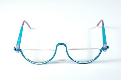 Vintage 1980s Colorful Aluminum Eyeglasses by Gail Spence Design No ONE Denmark