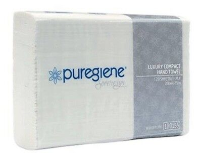 Puregiene Sovereign Luxury Compact  Hand  Towel Tad (Ctn 2160 Sheets)  Chs