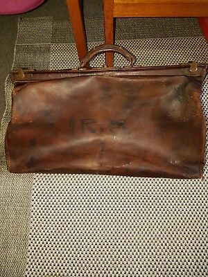 Antique Gladstone Doctors Bag