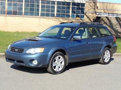 2006 Subaru Legacy Outback 2.5 XT TURBO AWD 4WD WAGON! 2ND-OWNER! NO RESERVE PANO SUNROOF LEATHER HEATED SEATS CD-CHANGER 2 KEYS CLEAN RUNS DRIVES