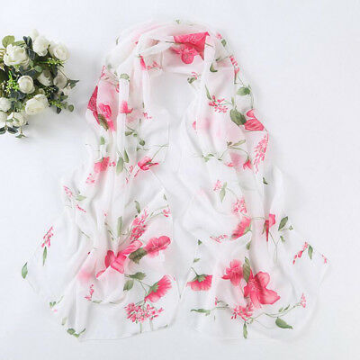 Women Lady New Long soft Wrap scarf Ladies Fashion Shawl Chiffon Scarf Scarves