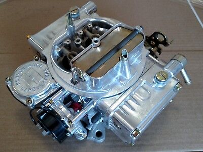 Holley 4160 600 CFM Electric Choke 4 BBL Barrel Auto Carburetor 0-80457S RETURN