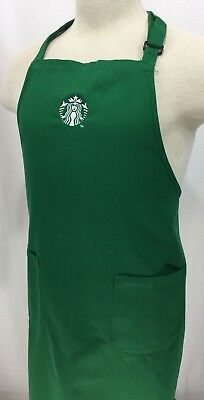 Starbucks Authentic Green Apron Embroidered Logo