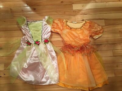 Toddler Pink Princess & Gold Costume by Dream Dazzlers & Tee Tots, Sz 3T